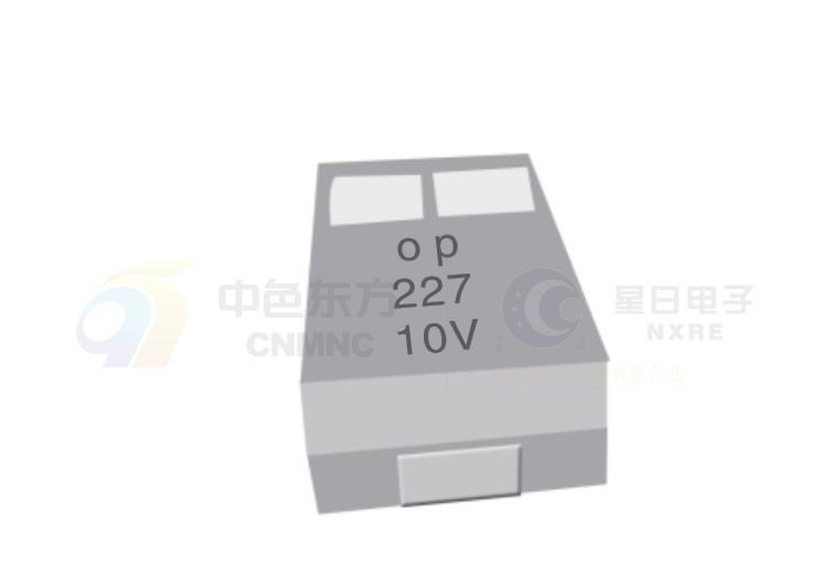 CA49型聚合物电解质片式钽电容器